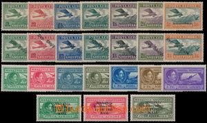 167484 - 1925-39 Mi.126-132, 144-150, 228-234, 295-297, kompletní let