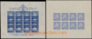 167546 - 1943 ZT  Mi.97Klb, Záhřeb, 2x zkusmý tisk pro PL, 8x 3,5Kn,