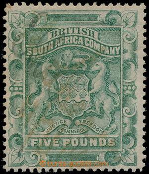 167682 - 1892 SG.12 Znak 5 Liber sage green; fiskální použití, velmi
