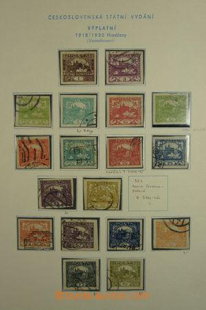 167730 - 1918-39 [SBÍRKY]  nekompletní generální sbírka v pérových de