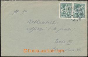 167795 - 1939 dopis do Protektorátu s vícenásobnou frankaturou zn. Po