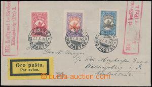167832 - 1926 KAUNAS - KÖNIGSBERG, Let dopis zaslaný do Německa, vyfr