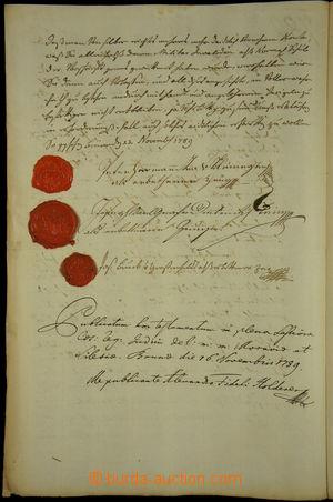 167876 - 1779-89 DIETRICHŠTEJN Josef Karel (1763-1825), významný mora