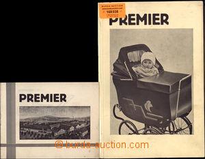 168038 - 1931 KOČÁRKY/  PREMIER - katalog kočárků, 2ks, obsahuje množ