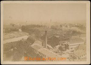 168218 - 1890-19000 ČESKÉ BUDĚJOVICE - pohled na město, čb původní fo
