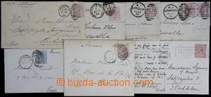 168643 - 1876-1928 sestava 7ks celistvostí, 6x dopis vyfr. zn Viktori