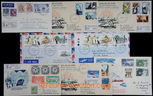 168711 - 1955-1984 sestava 8ks dopisů z Antarktidy, mj. předběžné MAW