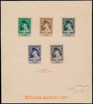 168749 - 1945 ZT  Moskevské vydání, Pof.385, hodnota 1K, výjimeč