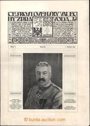 169133 - 1919 ČS. LEGIE V RUSKU/ Československý válečný zpravodaj č.