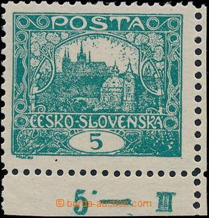 169148 / 1736 - Filatelie / ČSR I. / Hradčany 1918 - zoubkované