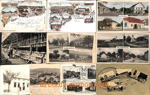 169917 - 1910-30 BLAŽOVICE, ŽABČICE, KOVALOVICE, POHOŘELICE, JEHNICE,