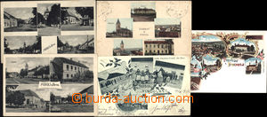 169923 - 1900-40 PODOLÍ  sestava 5ks pohlednic, z toho 1x Lito, 1x p