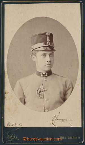 169982 - 1884 FRANTIŠEK FERDINAND d´ESTE (1863-1914), následník rakou