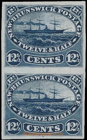 170066 - 1860-1863 ZT pro SG.18, parník Washington 12½C modrá, 2