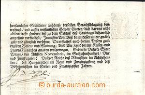 170269 - 1654 FERDINAND III. HABSBURSKÝ (1608–1657), císař římský, kr