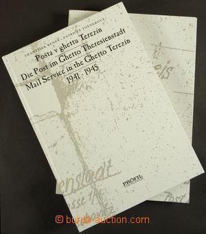 170300 - 1996 BENEŠ, TOŠNEROVÁ: Pošta v ghettu Terezín 1941–1945, vyd
