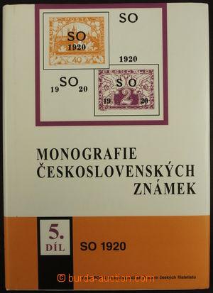 170756 - 1998 MONOGRAFIE ČESKOSLOVENSKÝCH ZNÁMEK, 5. díl, Známky SO 1
