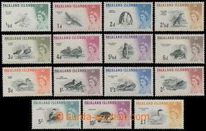 170773 - 1960-66 SG.193-207, Alžběta II. - Motivy; kompletní série, k