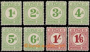 170782 - 1940 SG.D11-D18, Doplatní 1P-1Sh6P; kompletní série, kat. &#