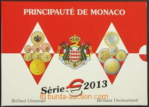 171188 - 2013 MONAKO série EURO-Mince 2013, vydání Brilliant Uncircul