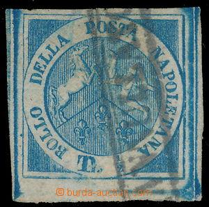 171284 - 1860 Sass.15, Mi.8, Trojdílný znak ½Tor modrá, krajo
