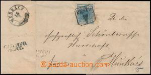171327 - 1851 I. emise / skládaný dopis zaslaný do Mukačeva z Pešti,
