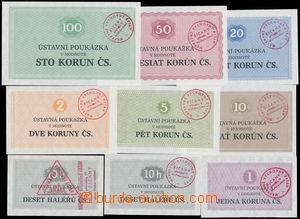 171357 / 1175 - Papírová platidla / ČSR 1953 - 1992