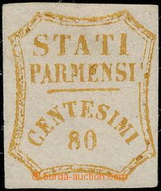 171778 - 1859 Sass.18, vydání Provizorní vlády 80c hnědo-oranžová (bi