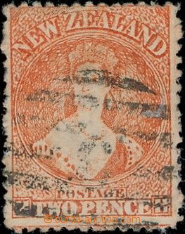 171939 - 1873 SG.142, Viktorie, Chalon Head 2d rumělková (vermilion