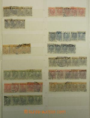 171983 - 1870-2003 [SBÍRKY]   větší obchodní zásoba raz. známek ve dv