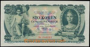 172173 - 1931 Ba.25c, 100Kč, série Sc