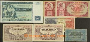 172182 - 1919-34 Ba.7, 21, 22 2ks, 24 2ks, 27, sestava 7ks banovek, r