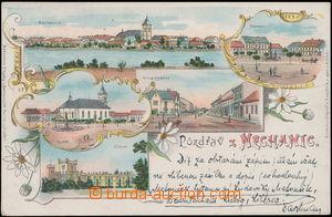 172336 - 1899 NECHANICE - vícezáběrová barevná lito, tisk Kabátník Ji