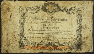 172356 - 1775 ANLEITUNG ZUM SCHÖNSCHREIBEN  dobová školní učebnice pí