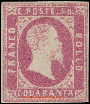 172361 / 101 - Filatelie / Evropa / Itálie / Staroitalské státy / Sardínie