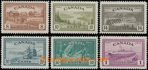 172455 - 1946 SG.401-406, Mírová rekonstrukce, řada 6ks zn., kat. &#1