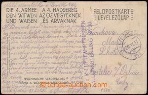 172572 - 1917 K.u.K. LUFTFAHRTRUPPEN/ BALLONABTEILUNG Nr. 20, pohledn