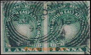 172719 - 1890-1895 SG.5a, Slunce a koruna, NEZOUBKOVANÁ 2-páska 1 Ann
