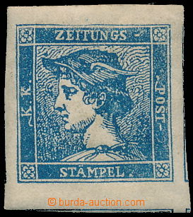 172758 - 1851 Ferch.6IIIb, modrý Merkur 0,6Kr, původní lep, luxusní s