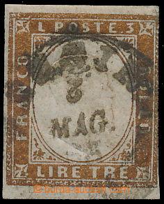 172781 / 78 - Filatelie / Evropa / Itálie / Staroitalské státy / Sardínie