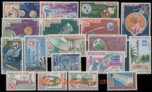 172815 - 1958-65 RADIOKOMUNIKACE: sestava 18ks známek ze zámoří, např