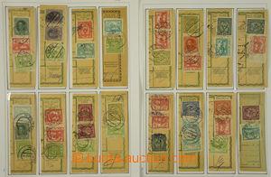 172977 - 1919-20 [SBÍRKY]  sestava 37ks ústřižků poštovních průvodek