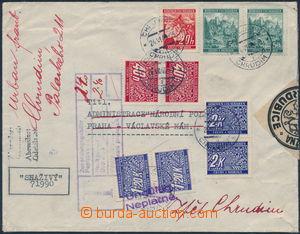 172983 - 1940 POŠTOVNÍ ÚLOŽNA PARDUBICE  nedostatečně vyfr. oby