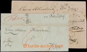 173035 - 1803, 1830 ČESKÉ ZEMĚ  2 dopisy z Tábora, 1x psáno v České Ř