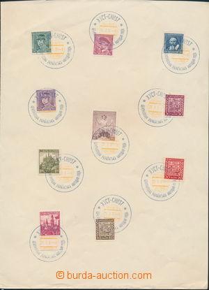 173085 - 1939 CHUST / CENTRÁLNÍ UKRAJINSKÁ NÁRODNÍ RADA 21.I.39, 10 o