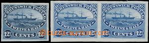 173185 - 1860-1863 ZT pro SG.18, parník Washington 12½C modrá, 2