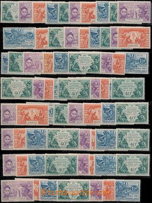 173291 - 1931 OMNIBUS/  Koloniální výstava v Paříži 40C - 1,50F, sest