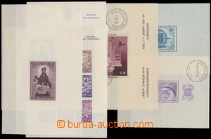 173315 - 1936 Bl.5, 7, 8, 9A, 9B,13-17, sestava 10 aršíků, několi