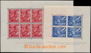 173323 - 1942 Mi.Bl.1 + Bl.2, Holandská legie, sběratelsky oblíbené a