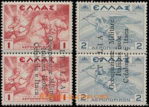173340 - 1941 CEFALONIA a ITHAKA - italská okupace, provizorní vydání